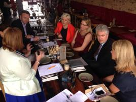 Small business roundtable in Maitland with Jenny Aitchison MP