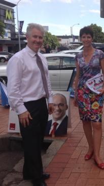 Supporting Port Macquarie MP, Kate Washington
