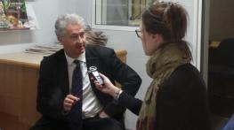 Speaking to local radio in Goulburn