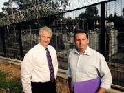 Adam and Campbelltown MP, Greg Warren calling for action to stop the skyrocketing power prices.