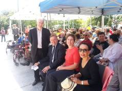 Blue Mountains with Linda Burney MP, Trish Doyle MP and Anthony Albanese MP