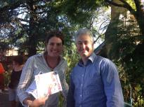 Supporting Blue Mountains MP, Trish Doyle
