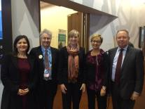 Meeting with Victorian Minister for the Prevention of Family Violence, Fiona Richardson; with NSW Parliament colleagues Tania Mihailuk MP, Jodi Harrison MP and Hugh McDermott MP