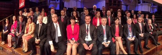 NSW Labor state MPs and MLCs at NSW Labor State Conference