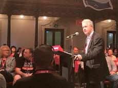 """NSW Labor StateConference 2016: Adam addressed the NSW ALP State Conference in the """"Prosperity At Work"""" debate, reaffirming the NSW Parliamentary Party's support for measures to address gender inequality in the workplace - whether in the public or private sectors - higher standards of safety for working people, and a fair and industrial independent umpire."""