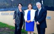 Highlighting the schools maintenance cost blowout under the Liberals at Kiama High School with Penny Sharpe MLC and Gilmore Labor's Fiona Phillips