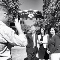 At Cranebrook High with Prue Car MP and Emma Husar MP to expose the $1.6 million maintenance bill backlog at this school under the Liberals.
