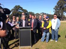 Announcing NSW Labor's Secure and Sustainable Steel Jobs package with Ryan Park MP.