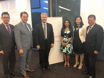 Guest speaker at the 2016 AGM of the Australian Asian Lawyers Association
