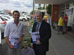 Adam with Country Labor's David Ewings, talking with local residents about their skyrocketing electricity bills. The Liberals and Nationals have done everything to make household and small business power bills as expensive as possible. The only winners from privatisation and deregulation are the big power companies. Only Labor has a positive plan to make energy affordable and secure: https://adamsearle.org/hot-topics/rising-power-prices/