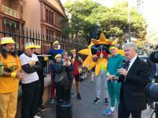 Adam took NSW Labor's campaign for a fair price for solar energy to the streets outside Parliament. The Berejiklian Government is seeking to punish solar households for saving consumers over $2 billion off their energy bills. Only Labor will ensure solar households get s fair price for making a significant contribution to our shared energy needs. (May 2018)