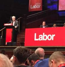 At the NSW Labor State Conference 2018: Adam announced that a Labor Government elected in March 2019 would enact new laws to punish workplace deaths. Everyone has the right to return home safe from work, but we are still losing too many to deaths occurring in the workplace.