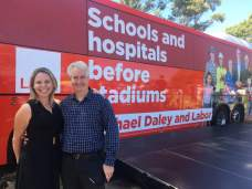 With my good friend - Oatley Labor's hardworking, Lucy Mannering - at NSW Labor's Volunteer Launch ahead of the 2019 State election.