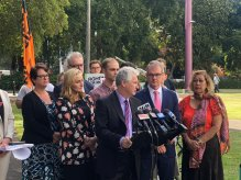 Adam Searle and Labor recommitting to ensuring gig economy workers have minimum pay and safe working conditions.
