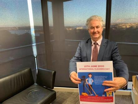 On International Cleaners Day 2020, Adam and NSW Labor say thank you to the unsung heroes of COVID-19. In our hospitals, aged care services, schools and communities, cleaners have been on the frontline. Without them, more lives would have been lost.