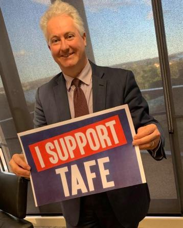 Supporting TAFE and the #RebuildTAFE campaign on National TAFE Day
