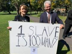 Campaigning for the NSW Modern Slavery Act to commence operation in NSW.